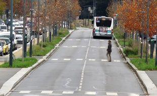 Une piétonne de 21 ans a été tuée par une voiture de police alors qu'elle traversait sur un passage protégé, le 9 janvier 2020 à Rennes.