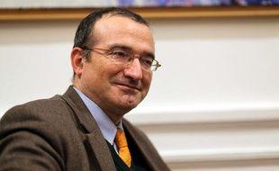 Le député Hervé Mariton, février 2009.