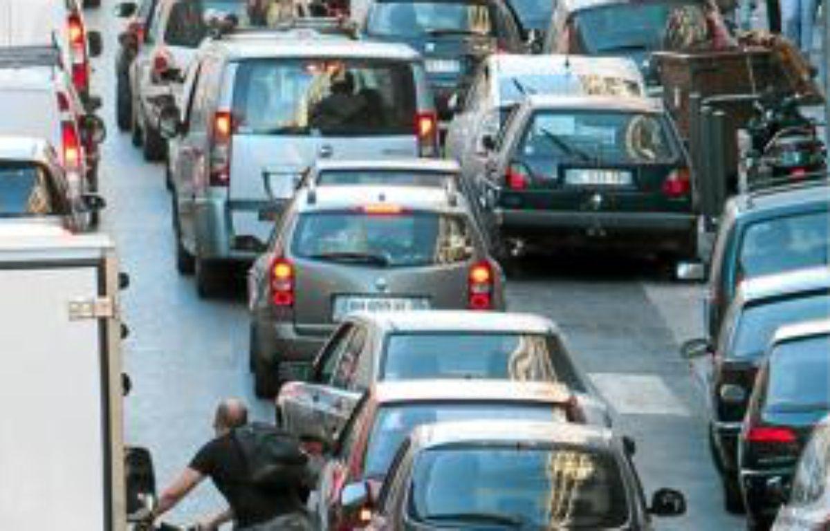 Les polluants liés au trafic routierfont partie des neurotoxiques. –  P.MAGNIEN / 20 MINUTES
