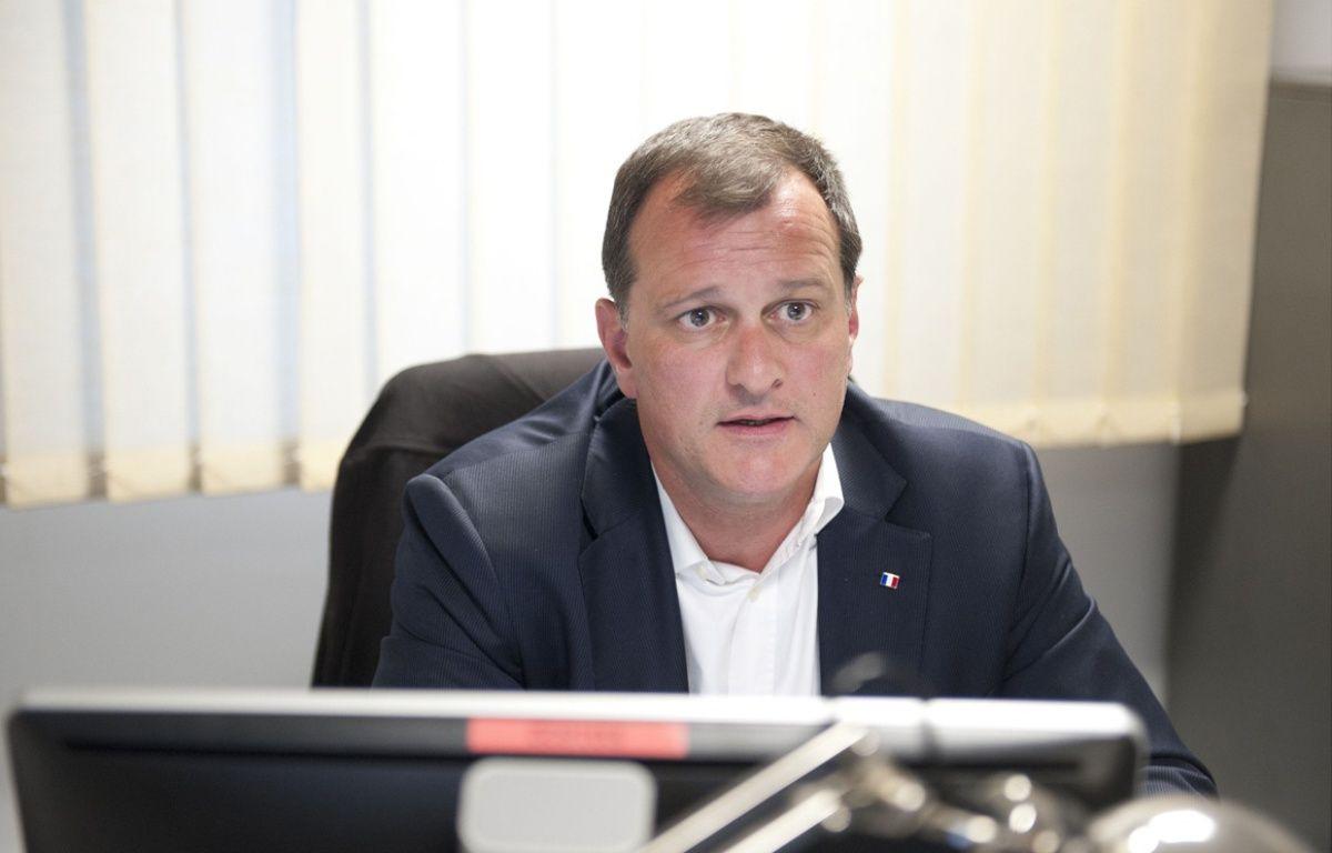 Louis Aliot, candidat du Front National sur la deuxième circonscription des Pyrénées-Orientales – Pascal Rodriguez / Sipa