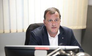 Louis Aliot, candidat du Front National sur la deuxième circonscription des Pyrénées-Orientales