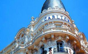L'hotel Carlton à Cannes