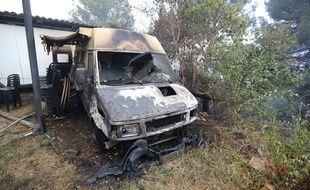 L'incendie de Carros (Alpes-Maritimes) a déjà fait de gros dégâts.