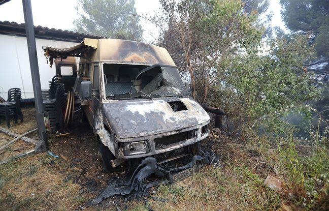 Incendies dans le Sud-Est: Un des départs de feu serait d'origine volontaire