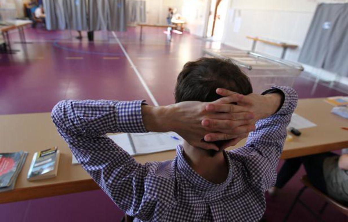 Dans un bureau de vote à Strasbourg le 10 juin 2012. – G. VARELA / 20 MINUTES