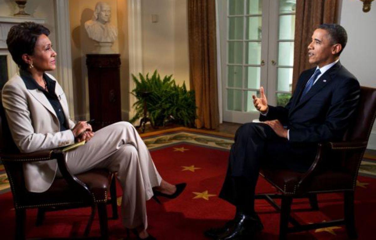 Barack Obama, invité de la chaîne ABC, le 9 mai 2012. – MAISON BLANCHE/P.SOUZA