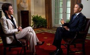 Barack Obama, invité de la chaîne ABC, le 9 mai 2012.