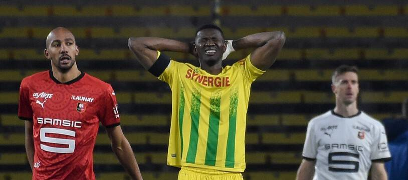 Le FCN a beaucoup souffert dans cette première moitié de saison, à l'image de Coulibaly.