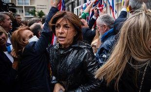 Martine Vassal en campagne avant le second tour des municipales 2020