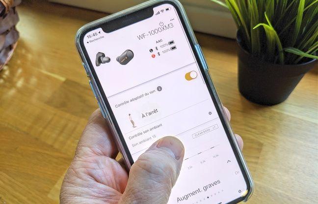 Une application très complète pour optimiser l'usage des écouteurs.