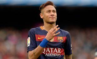 L'attaquant du FC Barcelone Neymar, le 8 mai 2016.