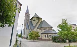 L'église Sainte-Thérèse de Rennes.