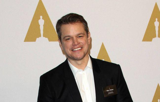 Matt Damon à la soirée des nommés aux 89e Oscars