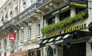 La chaîne de restaurants L'Entrecôte à Bordeaux