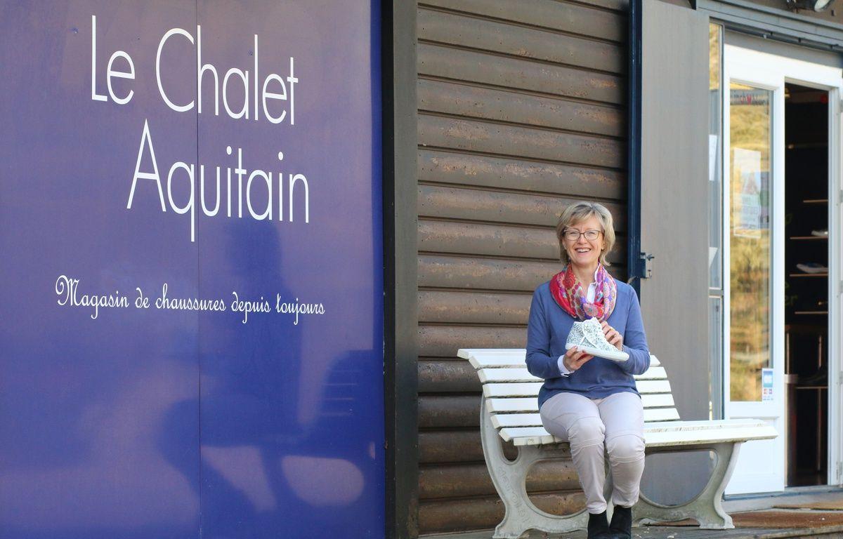 Marli Marchyllie, a relancé une activité de chaussures à Blanquefort (Gironde) avec l'Atelier du chalet aquitain – M.Bosredon/20Minutes