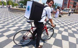 Comme Livreur Chic, en six mois, trois sociétés de livraison de repas ont posé leurs roues à Nice.