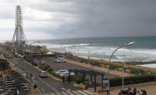 Le front de mer à Lacanau