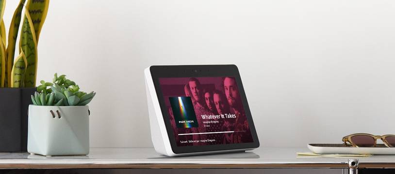 L'Echo Show: une enceinte connectée avec écran HD de 10 pouces.