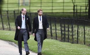 Le prince William et son frère Harry, le 20 mai 2017.