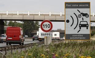 La vitesse est limitée à 110 à l'entrée de Lille