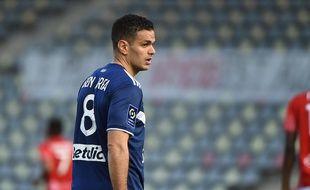 Hatem Ben Arfa, l'attaquant des Girondins.
