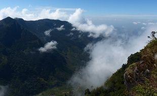 Les falaises du «bout du monde», au Sri Lanka.