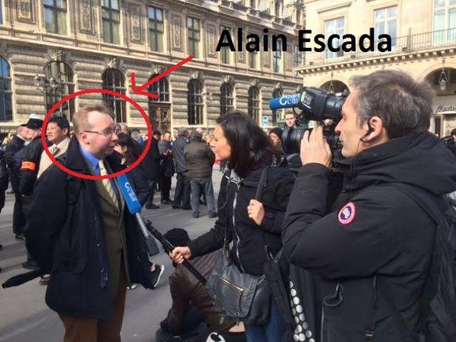 Alin Escada, président de Civitas, très engagé contre le mariage homosexuel.