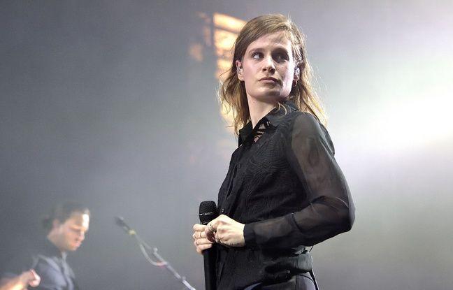 Christine and the Queens au festival Fnac Live à Paris en juillet 2015