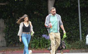 Les acteurs Ana de Armas et Ben Affleck