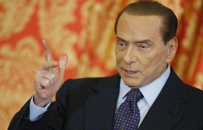 L'ancien président du Conseil italien, Silvio Berlusconi, le 27 octobre 2012, à Gerno.