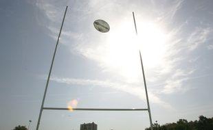 Poteaux de rugby (illustration)