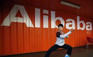 Un bureau d'Alibaba, à Hangzho, en Chine.