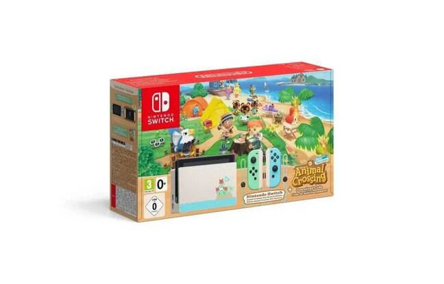 Pack console + Animal Crossing New Horizons
