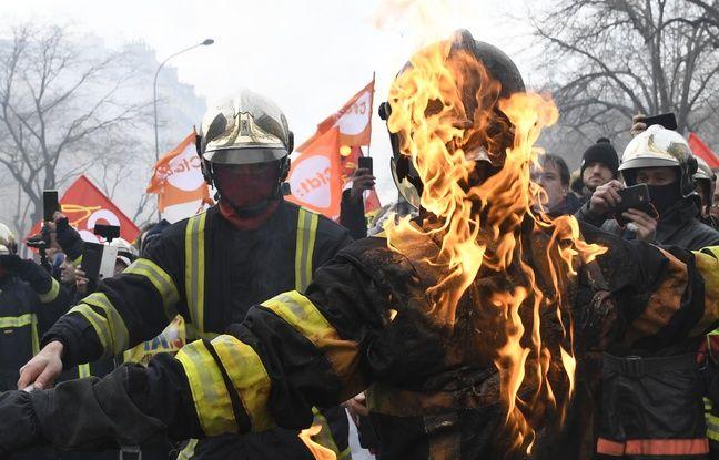 Manifestation de pompiers à Paris: Le préfet déplore l'attitude «très agressive» de certains manifestants