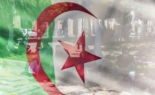 Un drapeau algérien (illustration)