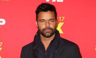 Le chanteur et acteur Ricky Martin