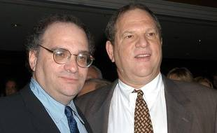Bob et Harvey Weinstein en 2003