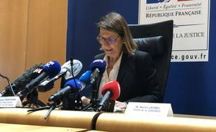 Frédérique Porterie, procureur de la République de Bordeaux, a fait le point sur l'affaire du féminicide à Mérignac, ce jeudi.