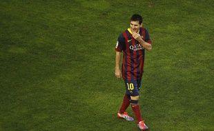 Lionel Messi lors du match entre le FC Barcelone et le Rayo Vallecano le 21 septembre 2013.