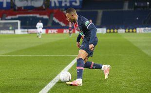 Kylian Mbappé contre le Losc en Coupe de France