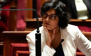 La ministre du Travail Myriam El Khomri, le 28 juin 2016 à l'Assemblée nationale à Paris