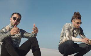 PNL dans leur clip « A l'Ammoniaque »