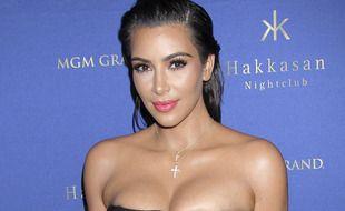 Kim Kardashian le 22 juillet 2016 à Las Vegas