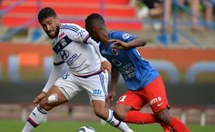 Pour son dernier match sous le maillot lyonnais avant sa grave blessure au genou, Nabil Fekir avait inscrit un triplé à Caen (1-4) le 29 août.