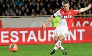 Toulalan sous les couleurs de l'AS Monaco.