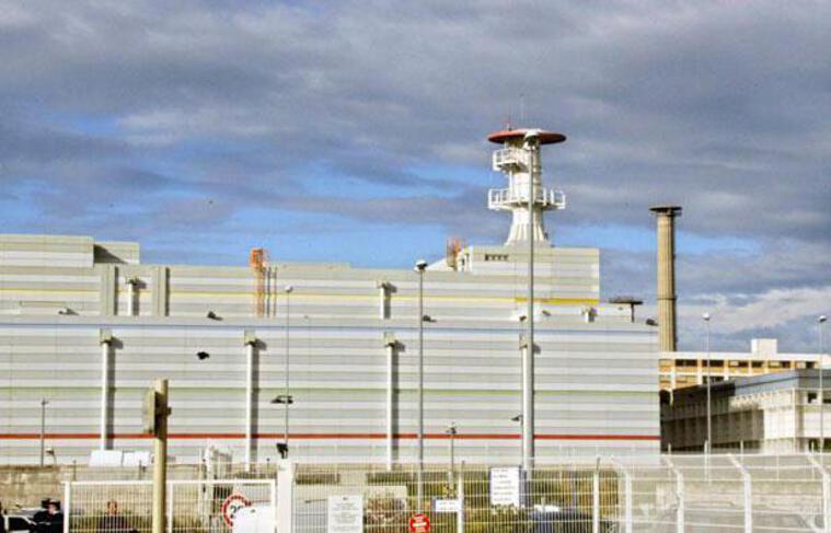 La centrale nucléaire de Marcoule (Gard). Photo prise le 12 septembre 2011.