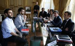 William Martinet, le 11 mars 2016 à Matignon. AFP PHOTO / THOMAS SAMSON