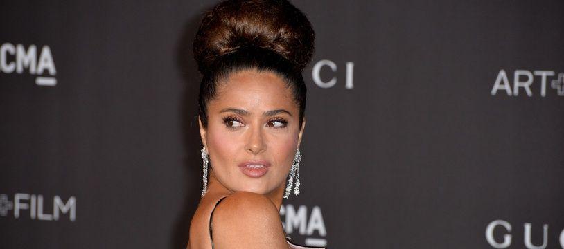 L'actrice Salma Hayek