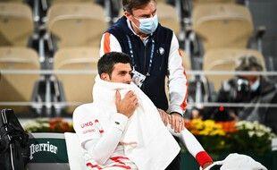 Novak Djokovic a fait appel au kiné contre Carreno Busta.