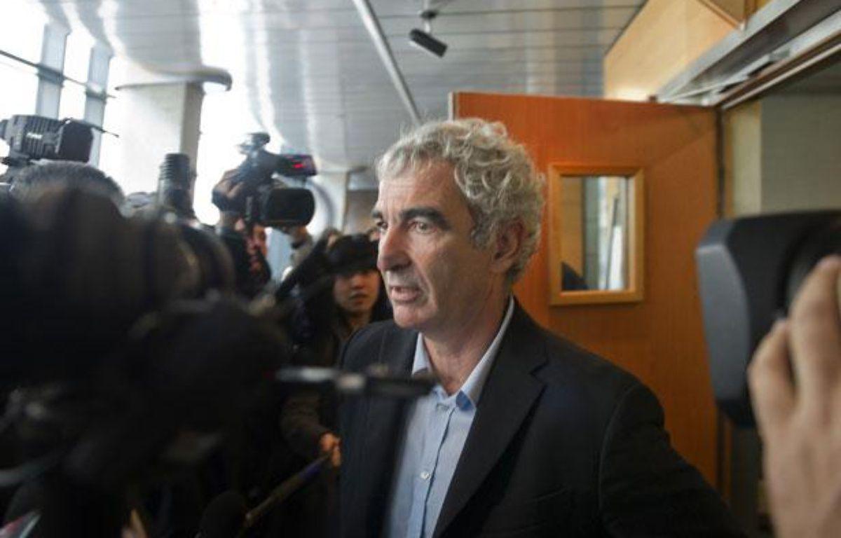 Raymond Domenech. – BERTRAND LANGLOIS / AFP